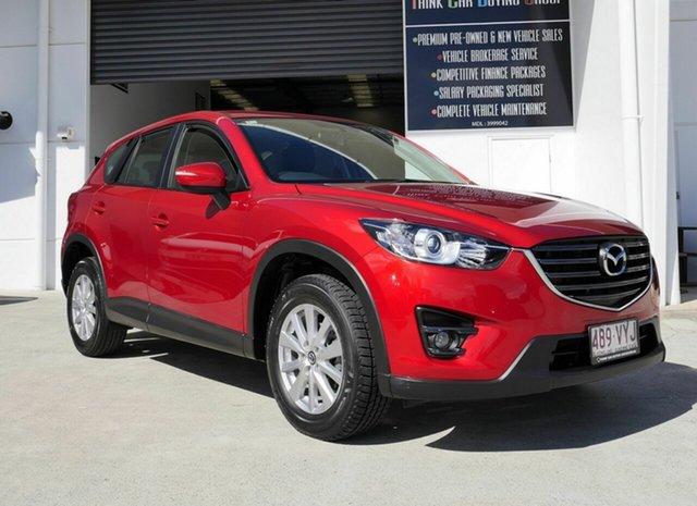 Used Mazda CX-5 KE1072 Maxx SKYACTIV-Drive Sport Capalaba, 2015 Mazda CX-5 KE1072 Maxx SKYACTIV-Drive Sport Red 6 Speed Sports Automatic Wagon