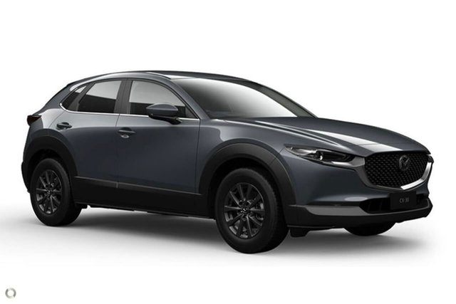 New Mazda CX-30 DM2W7A G20 SKYACTIV-Drive Pure East Maitland, 2020 Mazda CX-30 DM2W7A G20 SKYACTIV-Drive Pure Grey 6 Speed Sports Automatic Wagon