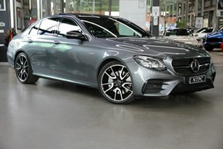 2018 Mercedes-Benz E-Class W213 808MY E43 AMG 9G-Tronic PLUS 4MATIC Grey 9 Speed Sports Automatic.