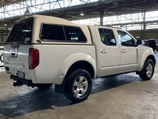 2009 Nissan Navara D40 ST-X White 6 Speed Manual Utility