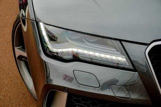 2014 Audi RS 7 4G MY14 Sportback Tiptronic Quattro Grey 8 Speed Sports Automatic Hatchback