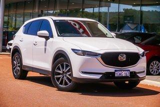 2019 Mazda CX-5 KF4WLA GT SKYACTIV-Drive i-ACTIV AWD White 6 Speed Sports Automatic Wagon.