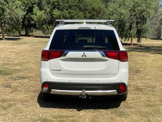2016 Mitsubishi Outlander ZK LS Safety Pack White Constant Variable SUV
