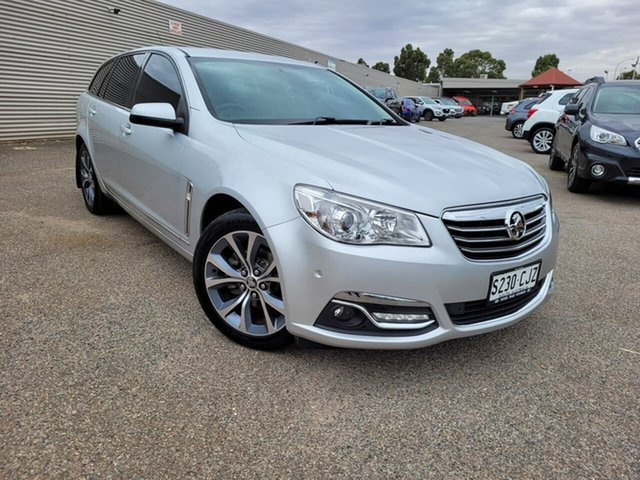 Used Holden Calais VF MY14 Sportwagon Elizabeth, 2013 Holden Calais VF MY14 Sportwagon Silver 6 Speed Sports Automatic Wagon