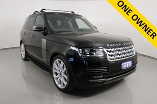 2013 Land Rover Range Rover LG Vogue SE 5.0 V8 SC Black 8 Speed Automatic Wagon.