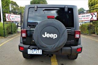2012 Jeep Wrangler JK MY2012 Unlimited Sport Black 6 Speed Manual Softtop