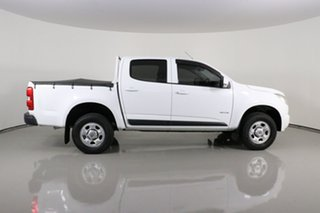 2013 Holden Colorado RG LX (4x2) White 6 Speed Automatic Crew Cab Pickup