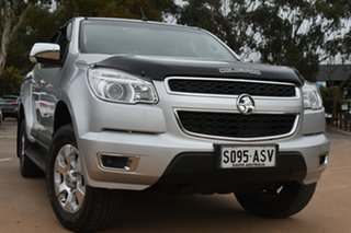 2012 Holden Colorado RG MY13 LTZ Crew Cab Silver 6 Speed Sports Automatic Utility.