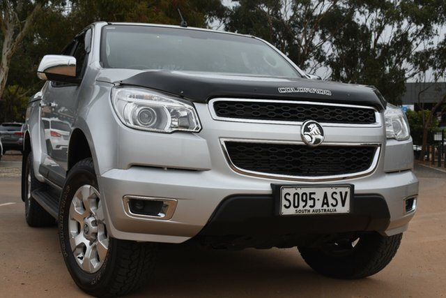 Used Holden Colorado RG MY13 LTZ Crew Cab St Marys, 2012 Holden Colorado RG MY13 LTZ Crew Cab Silver 6 Speed Sports Automatic Utility