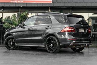 2013 Mercedes-Benz M-Class W166 ML250 BlueTEC 7G-Tronic + Grey 7 Speed Sports Automatic Wagon.