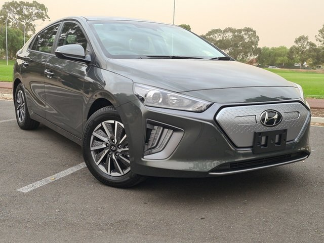 New Hyundai Ioniq AE.V4 MY21 electric Elite Nailsworth, 2021 Hyundai Ioniq AE.V4 MY21 electric Elite Amazon Gray 1 Speed Reduction Gear Fastback