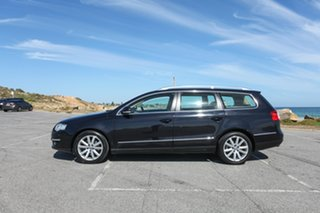 2008 Volkswagen Passat Type 3C MY09 125TDI DSG Black 6 Speed Sports Automatic Dual Clutch Wagon