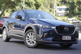2020 Mazda CX-3 DK2W7A Maxx SKYACTIV-Drive FWD Sport LE Deep Crystal Blue 6 Speed Sports Automatic.