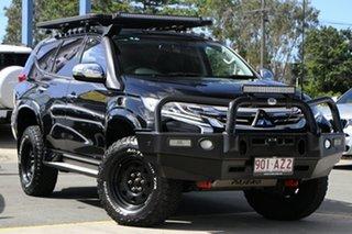 2016 Mitsubishi Pajero Sport QE MY16 Exceed Black 8 Speed Sports Automatic Wagon.