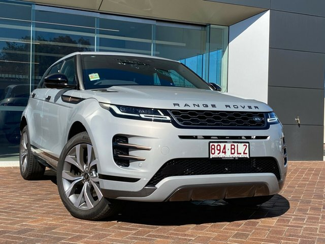 Demo Land Rover Range Rover Evoque L551 MY21 P250 R-Dynamic SE Toowoomba, 2020 Land Rover Range Rover Evoque L551 MY21 P250 R-Dynamic SE Silver 9 Speed Sports Automatic Wagon