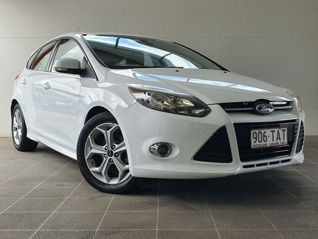 Used Ford Focus LW MkII Sport PwrShift Brendale, 2013 Ford Focus LW MkII Sport PwrShift White 6 Speed Sports Automatic Dual Clutch Hatchback