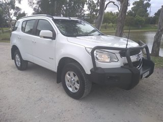 2013 Holden Colorado 7 RG MY13 LT White 6 Speed Sports Automatic Wagon.