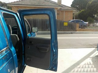 2002 Ford Courier PE GL (4x4) Blue 5 Speed Manual 4x4 Cab Chassis