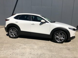 2021 Mazda CX-30 C30B G20 Evolve (FWD) Snowflake White 6 Speed Automatic Wagon