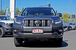 2018 Toyota Landcruiser Prado GDJ150R VX Grey 6 Speed Sports Automatic Wagon.