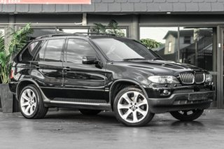 2005 BMW X5 E53 MY05 Steptronic Black 6 Speed Sports Automatic Wagon.