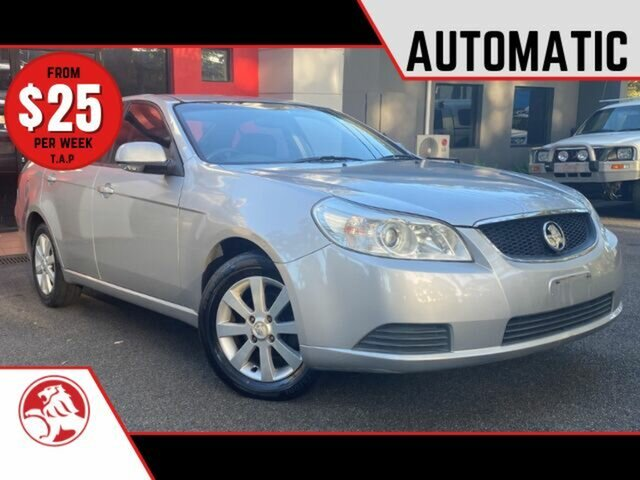 Used Holden Epica EP MY09 CDXi Ashmore, 2008 Holden Epica EP MY09 CDXi Metallic Silver 6 Speed Sports Automatic Sedan
