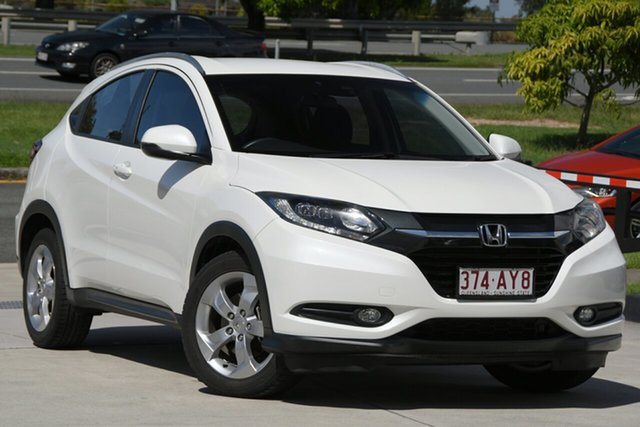 Used Honda HR-V MY15 VTi-S North Lakes, 2015 Honda HR-V MY15 VTi-S White 1 Speed Constant Variable Hatchback