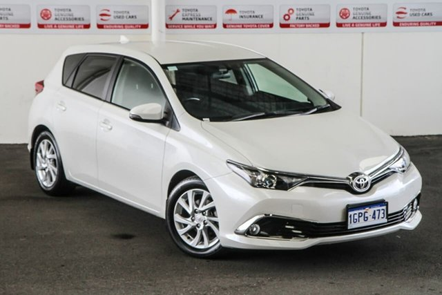 Pre-Owned Toyota Corolla ZRE182R MY17 Ascent Sport Myaree, 2018 Toyota Corolla ZRE182R MY17 Ascent Sport Crystal Pearl 7 Speed CVT Auto Sequential Hatchback