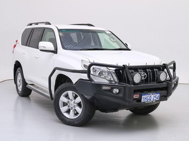 Used Toyota Landcruiser Prado GDJ150R MY16 GXL (4x4), 2016 Toyota Landcruiser Prado GDJ150R MY16 GXL (4x4) White 6 Speed Automatic Wagon