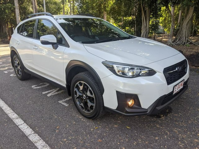 Used Subaru XV G5X MY19 2.0i-L Lineartronic AWD Stuart Park, 2019 Subaru XV G5X MY19 2.0i-L Lineartronic AWD White 7 Speed Constant Variable Wagon