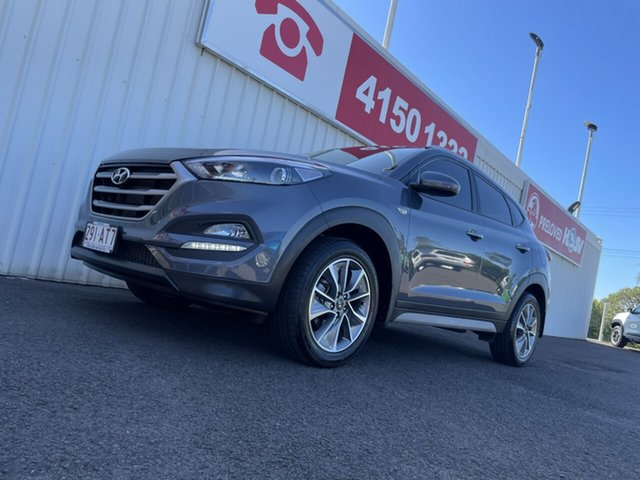 Used Hyundai Tucson TL MY18 Active X 2WD Bundaberg, 2017 Hyundai Tucson TL MY18 Active X 2WD Grey 6 Speed Sports Automatic Wagon