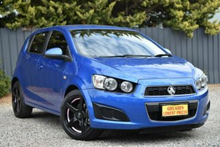 2014 Holden Barina TM MY14 CD Blue 6 Speed Automatic Hatchback.