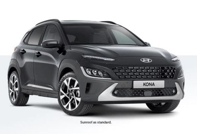 New Hyundai Kona Os.v4 MY21 Highlander 2WD Oakleigh, 2020 Hyundai Kona Os.v4 MY21 Highlander 2WD Grey 8 Speed Constant Variable Wagon