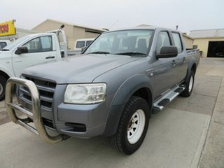 2008 Ford Ranger PJ 07 Upgrade XL (4x2) Silver 5 Speed Automatic Dual Cab Pick-up.