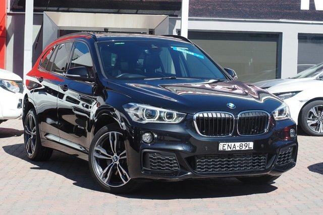 Used BMW X1 F48 xDrive25i Steptronic AWD Parramatta, 2016 BMW X1 F48 xDrive25i Steptronic AWD Black 8 Speed Sports Automatic Wagon