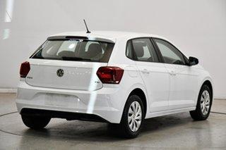 2018 Volkswagen Polo AW MY18 70TSI Trendline White 5 Speed Manual Hatchback