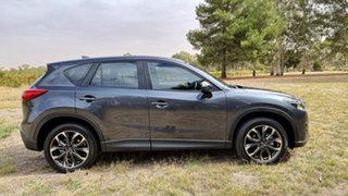 2016 Mazda CX-5 KE1022 Grand Touring SKYACTIV-Drive i-ACTIV AWD Grey 6 Speed Sports Automatic Wagon