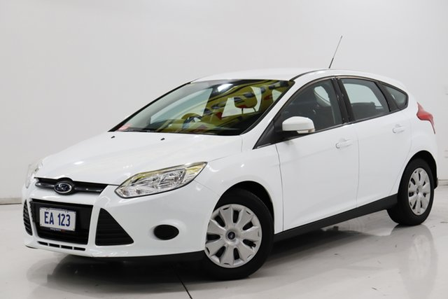 Used Ford Focus LW MkII Ambiente PwrShift Brooklyn, 2014 Ford Focus LW MkII Ambiente PwrShift White 6 Speed Sports Automatic Dual Clutch Hatchback