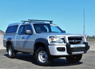 2007 Mazda BT-50 UNY0E3 DX+ Freestyle Silver 5 Speed Manual Utility.