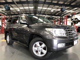 2009 Toyota Landcruiser UZJ200R Sahara Graphite 5 Speed Sports Automatic Wagon
