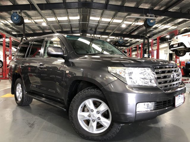 Pre-Owned Toyota Landcruiser UZJ200R Sahara Oakleigh, 2009 Toyota Landcruiser UZJ200R Sahara Graphite 5 Speed Sports Automatic Wagon