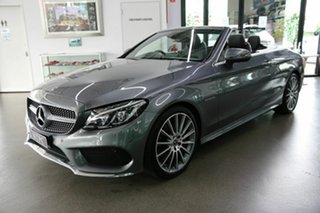 2017 Mercedes-Benz C-Class A205 808MY C200 9G-Tronic Grey 9 Speed Sports Automatic Cabriolet
