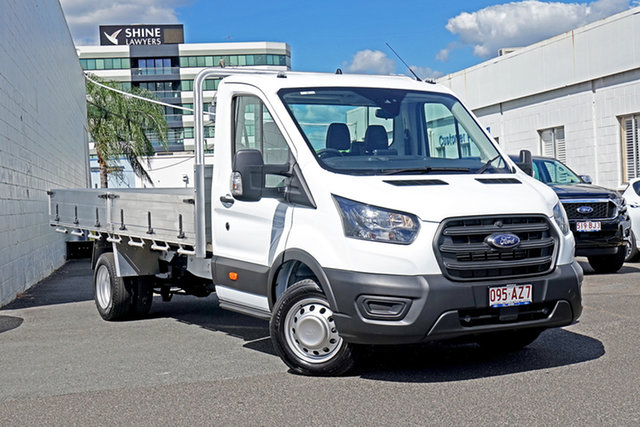 Used Ford Transit VO 2020.50MY 430E Springwood, 2020 Ford Transit VO 2020.50MY 430E White 10 Speed Automatic Single Cab Cab Chassis