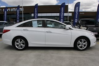 2012 Hyundai i45 YF MY11 Elite White 6 Speed Sports Automatic Sedan.