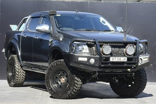 2012 Ford Ranger PX XLT Double Cab Grey 6 Speed Manual Utility.