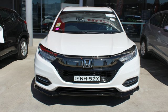 Demo Honda HR-V MY21 RS Cardiff, 2021 Honda HR-V MY21 RS Platinum White 1 Speed Constant Variable Hatchback