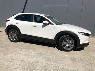 2021 Mazda CX-30 C30B G20 Evolve (FWD) Snowflake White 6 Speed Automatic Wagon.