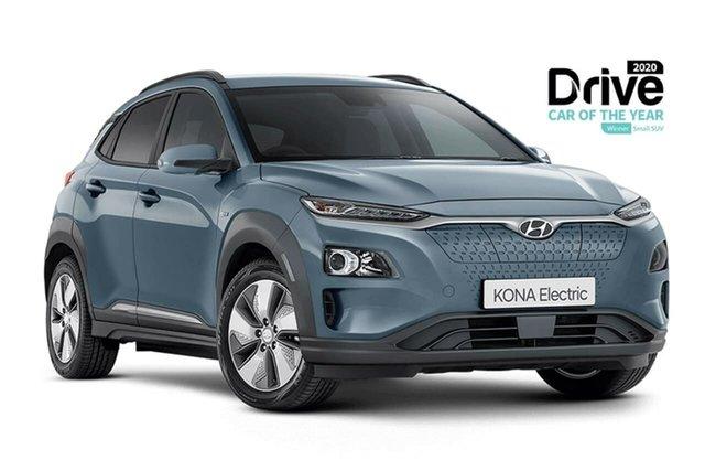 New Hyundai Kona OSEV.2 MY20 electric Elite Oakleigh, 2020 Hyundai Kona OSEV.2 MY20 electric Elite Silver 1 Speed Reduction Gear Wagon