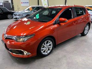 2016 Toyota Corolla ZRE182R MY15 Ascent Sport Orange 7 Speed CVT Auto Sequential Hatchback