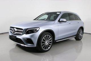 2016 Mercedes-Benz GLC250D 253 Silver 9 Speed Automatic Wagon.